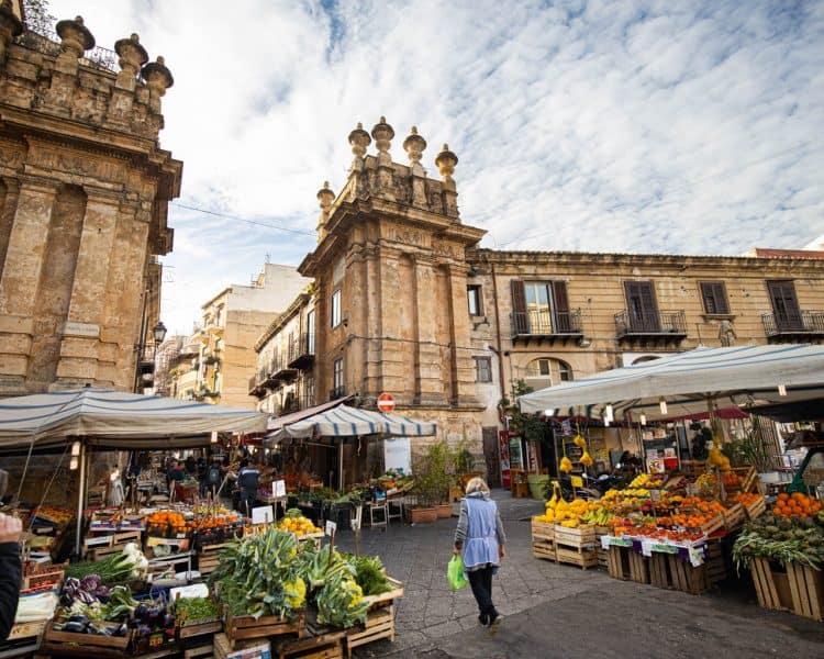 Sant'Agostino B&B Palermo Centro - mercato