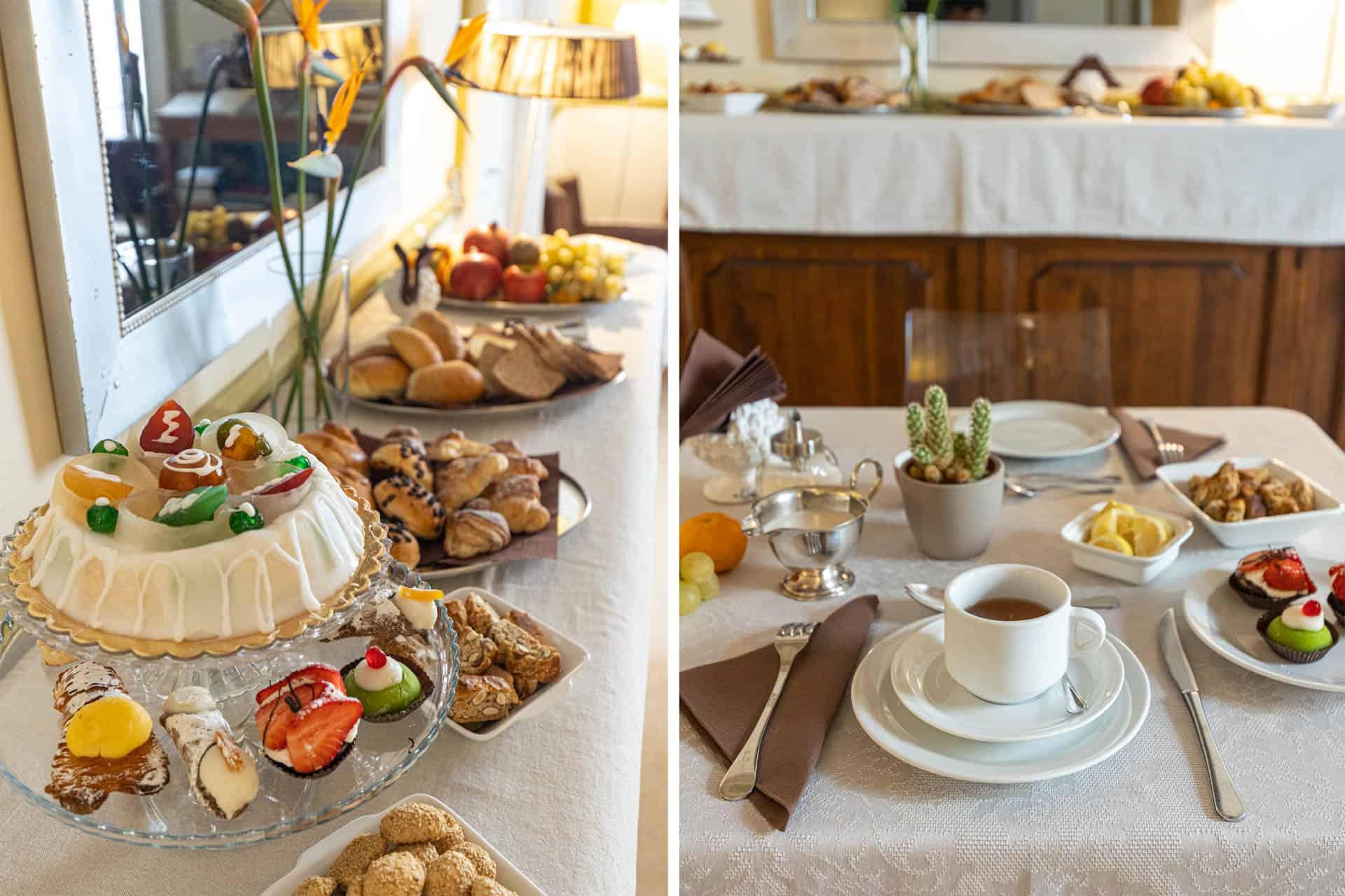 Sant'Agostino B&B palermo Centro - breakfast